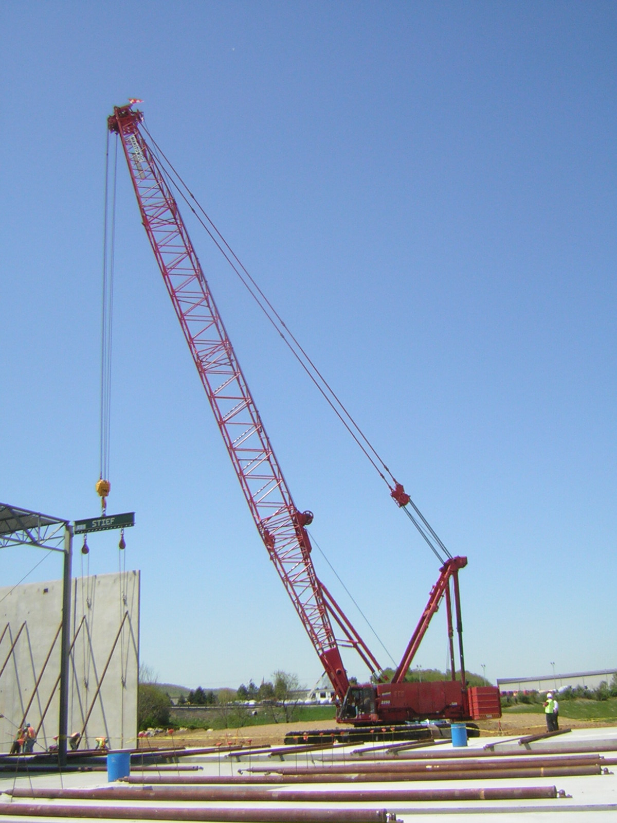 Crawler cranes rental and service in PA and NJ