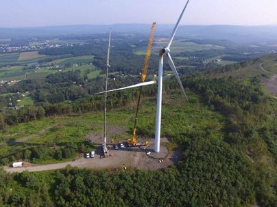 Photo of windmill project
