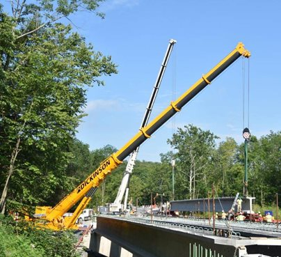 Roads and Bridges Crane Rentals