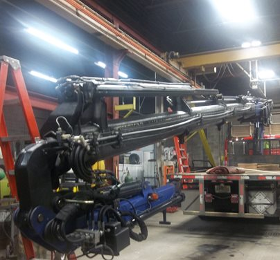 Mobile Crane Services-Repair and Inspection